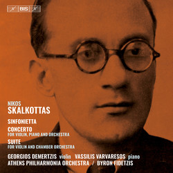Skalkottas - Sinfonietta, Concerto and Suite