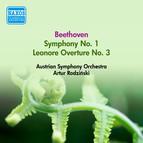 Beethoven, L. Van: Symphony No. 1 / Leonore Overture No. 3 (Austrian Symphony, Rodzinski) (1952)