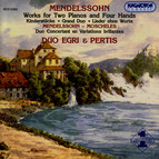 Mendelssohn: Works for 4 Hands and 2 Pianos 4 Hands