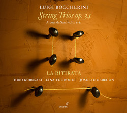 Boccherini: String Trios, Op. 34