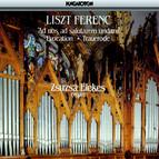 Liszt: Fantasia Und Fuge / Evocation A La Chapelle Sixtine / Les Morts / Nun Danket Alle Gott
