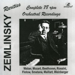 Zemlinsky: The Complete 78 rpm recordings