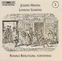 Haydn - Complete Solo Keyboard Music, Vol.3 - London Sonatas
