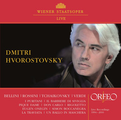Wiener Staatsoper Live: Arias of Bellini, Rossini, Tchaikovsky & Verdi