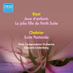 Bizet, G.: Jeux D'Enfants / La Jolie Fille De Perth Suite / Chabrier, E.: Suite Pastorale (Paris Conservatoire Orchestra, Lindenberg) (1953)
