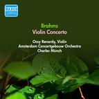 Brahms, J.: Violin Concerto (Renardy, Amsterdam Concertgebouw, Munch) (1950)