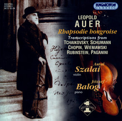 Auer: Transcriptions for Violin and Piano
