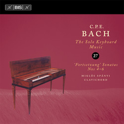 C.P.E. Bach – Solo Keyboard Music, Vol. 27