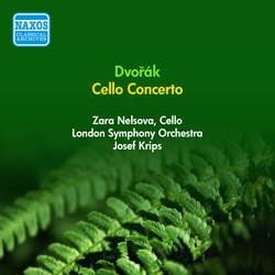 Dvorak, A.: Cello Concerto (Nelsova, London Symphony, Krips) (1951)