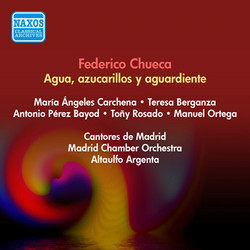 Chueca, F.: Agua, Azucarillos Y Aguardiente [Zauzuela] (Rosado, Encabo, Iriarte, Argenta) (1951)