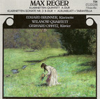 Reger, M.: Clarinet Quintet, Op. 146 / Clarinet Sonata, Op. 107 / Albumblatt in E Flat Major / Tarantella