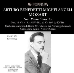 Mozart: Piano Concertos - Brahms: 28 Variations on a Theme by Paganini