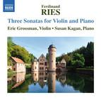 Ries: 3 Sonatas for Violin & Piano