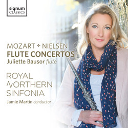 Mozart & Nielsen: Flute Concertos