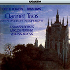 Beethoven: Clarinet Trio / Brahms: Clarinet Trio