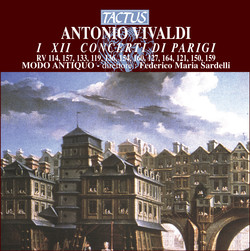 Antonio Vivaldi: I XII Concerti di Parigi