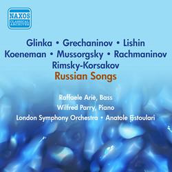 Vocal Recital (Bass): Arie, Raphael - Mussorgsky, M.P. / Glinka, M.I. / Lishin, G. / Grechaninov, A.T. (Recital of Russian Songs) (1953)