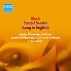 Bloch, E.: Sacred Service (Sung in English) (Rothmuller, London Philharmonic, Bloch) (1949)