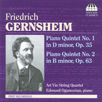 Gernsheim: Piano Quintets Nos. 1 & 2