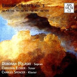 Brahms: Lieder, Vol. 3