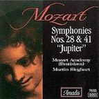 Mozart: Symphonies Nos. 28 and 41, Jupiter