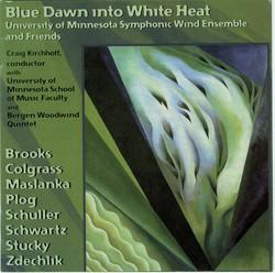 Blue Dawn Into White Heat