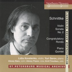 Schnittke: Works for Piano and Strings