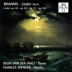 Brahms Lieder, Vol. 4