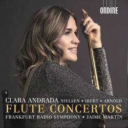 Nielsen, Ibert & Arnold: Flute Concertos