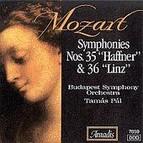 Mozart: Symphonies Nos. 35, Haffner and 36, Linz
