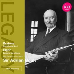 Brahms: Symphony No. 1 - Elgar: Enigma Variations