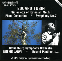 Tubin - The Symphonies, Symphony No.7 & 10; Suite from the ballet 'Kratt' ('The Goblin')