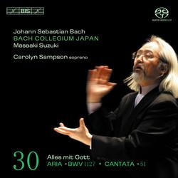 J.S. Bach - Cantatas, Vol.30, Solo Cantatas (BWV 51 and 1127)