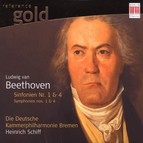 Beethoven: Symphonies Nos. 1 and 4