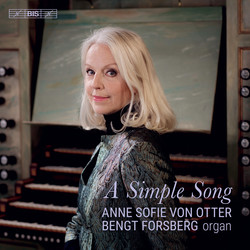 Anne Sofie von Otter – A Simple Song