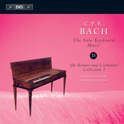 C.P.E. Bach – Solo Keyboard Music, Vol.35