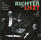 Richter Plays Liszt: Live From Moscow and Budapest, 1958-61