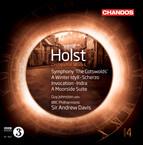 Holst: Orchestral Works, Vol. 4