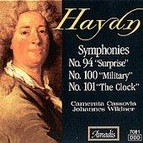 Haydn: Symphonies Nos. 94, The Surprise, 100, Military and 101, The Clock