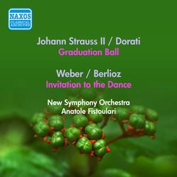 Strauss II, J.: Graduation Ball (Arr. A. Dorati) / Weber, C.: Invitation To the Dance (Arr. Berlioz) (Fistoulari) (1953)