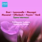 Opera Intermezzi - Kodaly, Z. / Mascagni, P. / Massenet, J. / Mussorgsky, M. / Offenbach, J. / Puccini, G. / Granados, E. / Verdi, G. (Karajan) (1954)