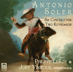 Soler: 6 Concerti for 2 Keyboards