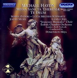 Haydn, M.: Missa Sancta Theresiae / Te Deum