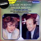 Penenyi, Miklos / Kocsis, Zoltan: Perenyi and Kocsis in Concert (1989-1995)
