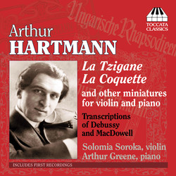 Hartmann, A.: Chamber Music for Violin and Piano