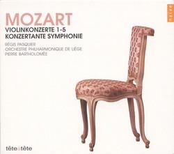 Mozart, W.A.: Violin Concertos Nos. 1-5 / Sinfonia Concertante, K. 364
