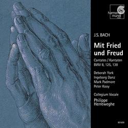 J.S. Bach: Cantatas BWV 8, 125 & 138