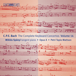 C.P.E. Bach - Keyboard Concertos, Vol.14