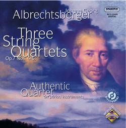 Albrechtsberger: String Quartets Nos. 4, 5 and 6