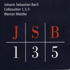 J.S. Bach: Suites for cello solo Nos. 1, 3, 5 BWV 1007, 1009 & 1011